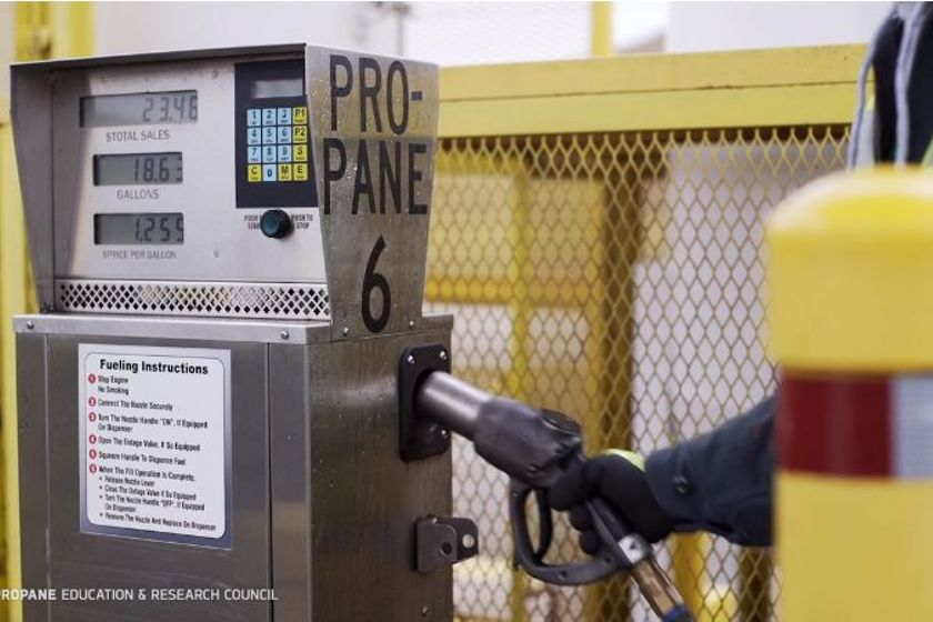 PERC's video demonstrates one example of a large installation, but propane autogas refueling...