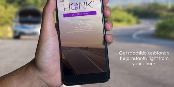洪克(Honk)的功能不仅仅包括牵引和路边援助服务车辆