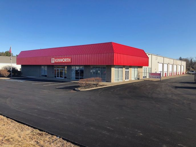 The newly renovated, 27,000 square-foot facility in Halfmoon contains 17 service bays.  - Photo: Kenworth