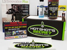 Hot Shot's Secret Rolls Out Trucker Care Packages