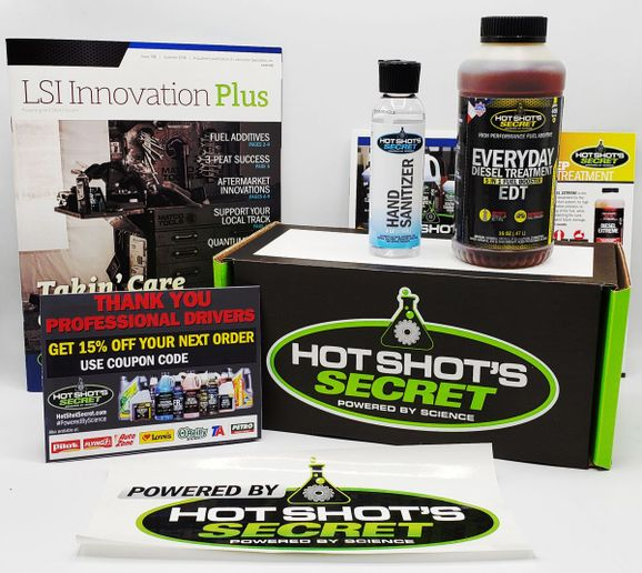 To show appreciation for their hard work, Hot Shot's Secret has 500 packages to distribute ready to ship from their headquarters in central Ohio.  - Photo: Hot Shot's Secret