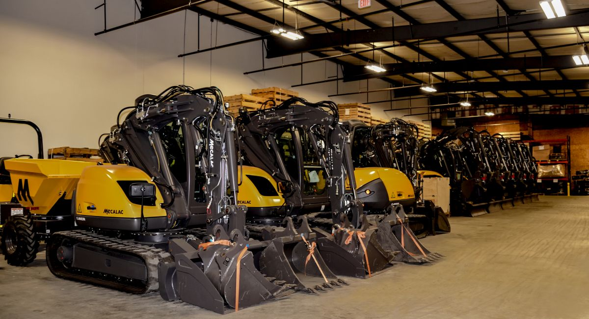 Mecalac Opens Facility to Support Construction Industry