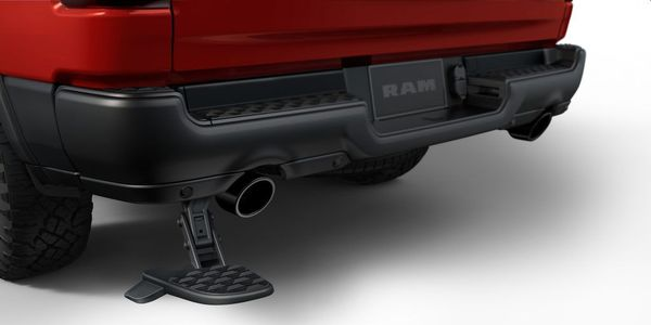 The Bed Step on model-year 2019-2020 Ram 2500-3500 trucks may unexpectedly fall off.
