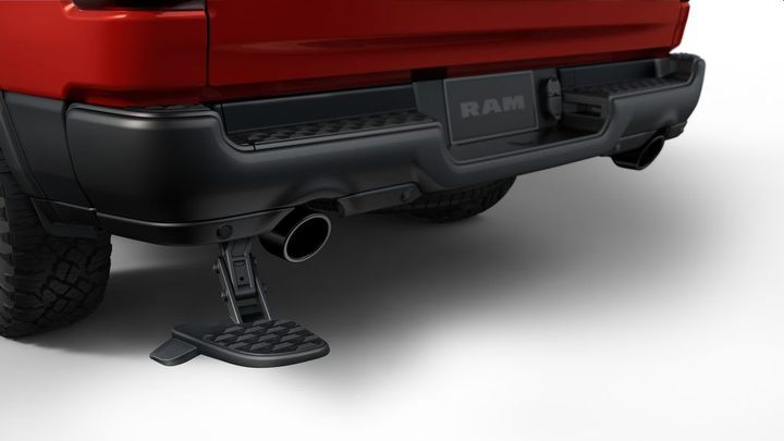 The Bed Step on model-year 2019-2020 Ram 2500-3500 trucks may unexpectedly fall off. - Photo: Ram Trucks