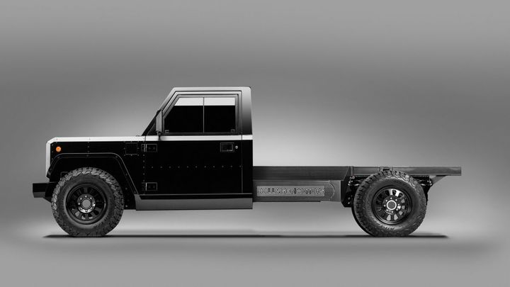 Bollinger Motors unveils the world's first Class 3 electric commercial truck platform. The B2 Chassis Cab offers endless commercial applications. - Photo: Bollinger Truck