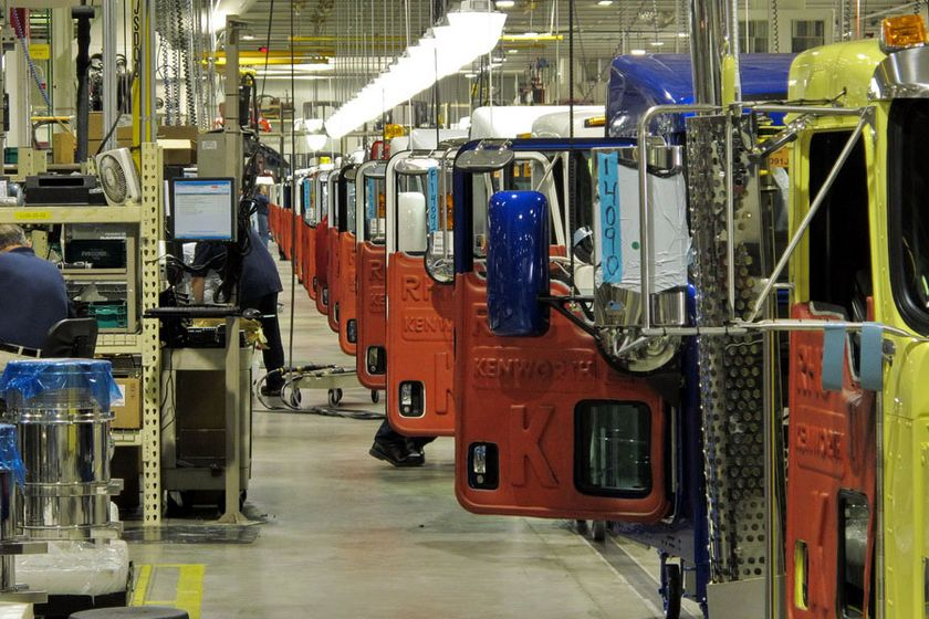 Paccar announced it is continuing its plant shutdown.