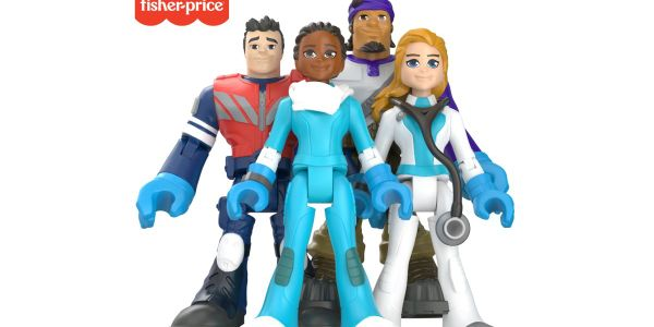 Fisher-Price's #ThankYouHeroes assortment includes 16 different action figures featuring a...