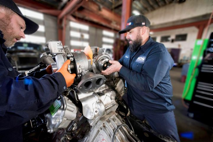 The ASE-certified technicians at MDS handle everything from emissions and electrical issues to drivetrain repairs to complete engine overhauls in the new facility, which is located just a half-mile east of I-5 in the center of Sutherlin. - Photo: MDS