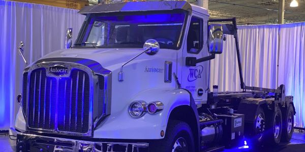 The DC-64 joins the ACX and ACMD cabover trucks and the ACTT terminal tractor as Autocar's...