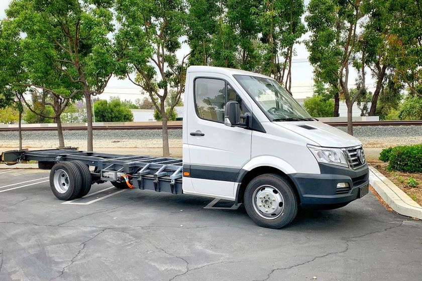 The all-electric zero emission EV Star Platform can be used for multiple applications and is...