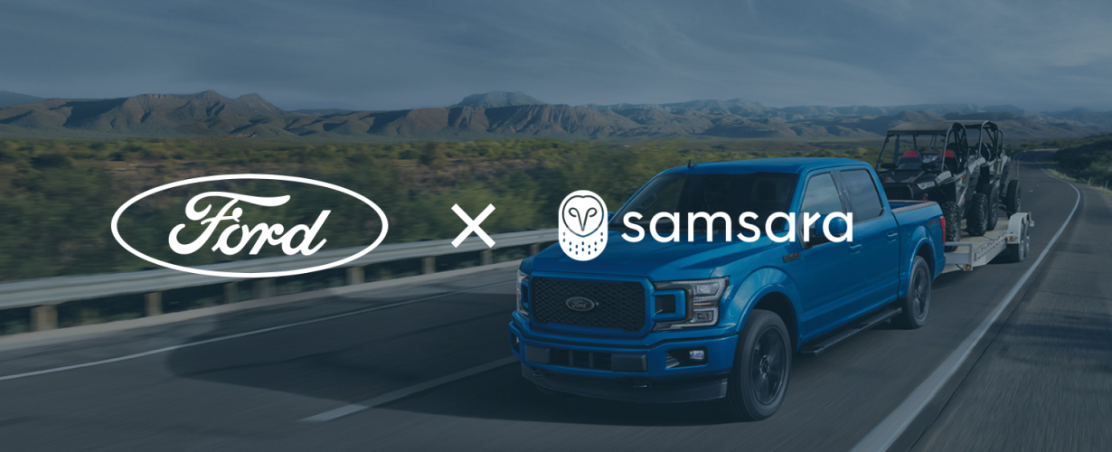 Samsara Launches Integrated Fleet Management Solution for Ford Vehicles