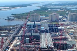 Cameron LNG Begins Third-Stage Production