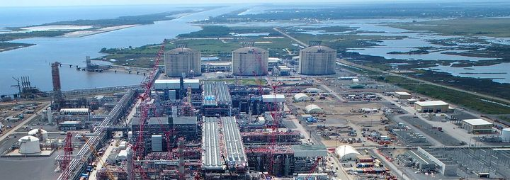 Cameron LNG is located in Hackberry, La., first announced Phase 1 of the liquefaction-export project in late 2018. - Photo: Sempra