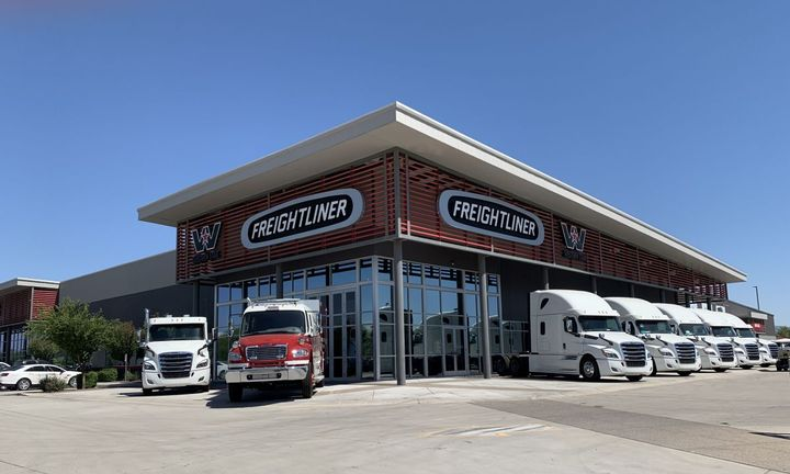 The Phoenix location is SelecTrucks 28th location in its retail network.  - Photo: SelecTrucks