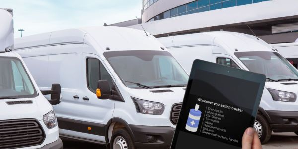 Each video section of COVID-19: What Delivery Drivers Need to Know, available to the public for...