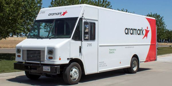 Aramark's Motiv-powered Step Vans have saved the company more than $100,000 in fuel and...