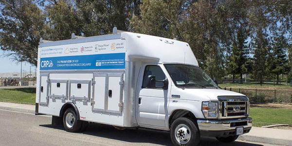 The electric trucks will be deployed in greater Sacramento to provide home energy audits,...