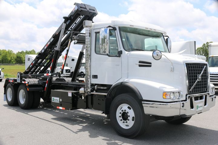 By partnering with Galfab, Volvo Trucks North America is able to streamline the installation and delivery of Volvo Trucks models with roll-off bodies, which are now available for installation at Fontaine Modification near Volvo Trucks' Dublin, Va., factory. - Photo: Volvo