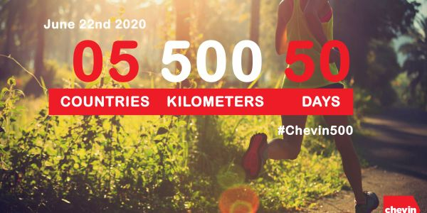 #Chevin500 is a charity run to raise money in support of global efforts to fight coronavirus...