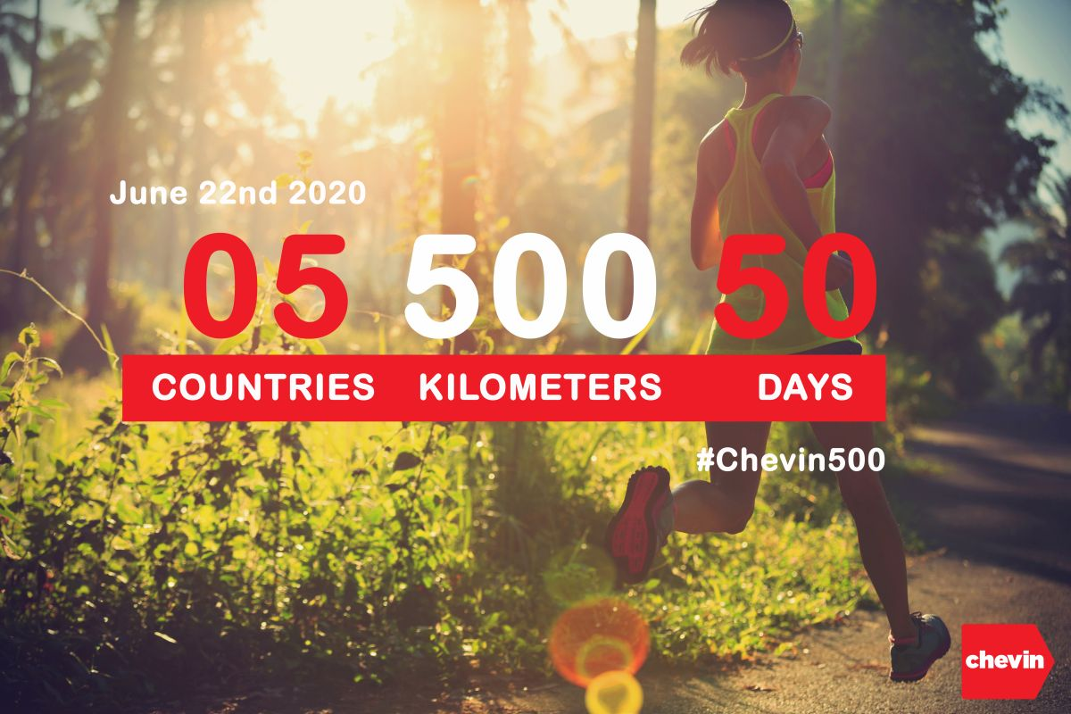 Join the #Chevin500 Challenge