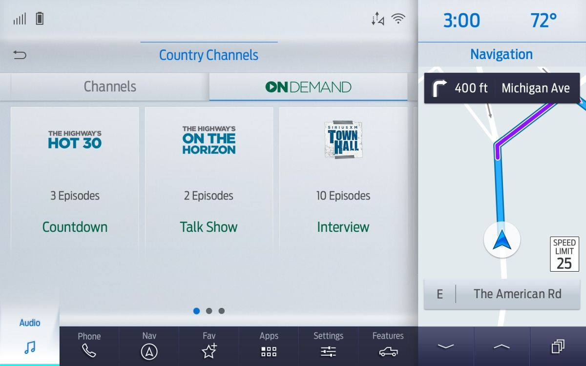 Ford Debuts SiriusXM with 360L in 2021 F-150