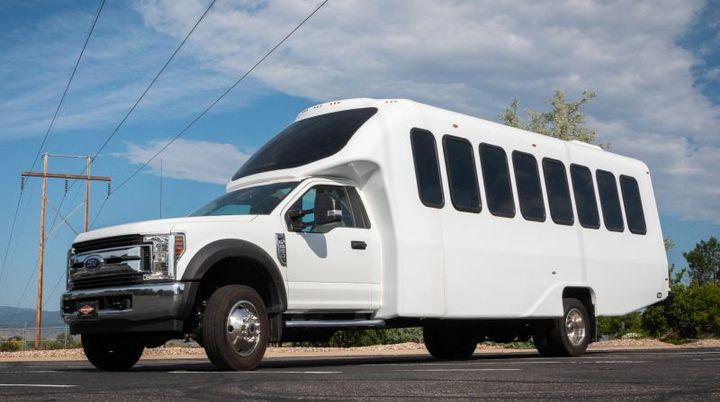 In addition to powering new F-550 models, existing trucks and shuttle buses can be repowered as zero-emission vehicles by conversion to the Lightning all-electric powertrain.
