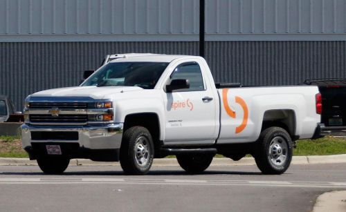 Spire is reducing carbon emissions by using compressed natural gas in nearly 300 of its fleet vehicles (about 13%). - Photo: Spire