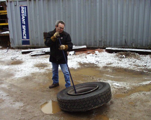 Ken Tool has been focusing on tire-related tools for 100 years, including safer ways to move larger tires.  - Photo: Ken Tool