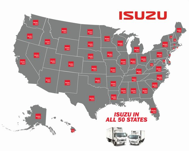 Isuzu's newest dealership in Wyoming now means the company has a dealership in all 50 U.S. states.  - Photo: Isuzu