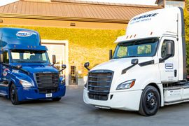 Battery-Electric Freightliner Innovation Fleet Logs 300K Miles