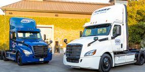 Battery-Electric Freightliner Innovation Fleet Logs 300K Miles