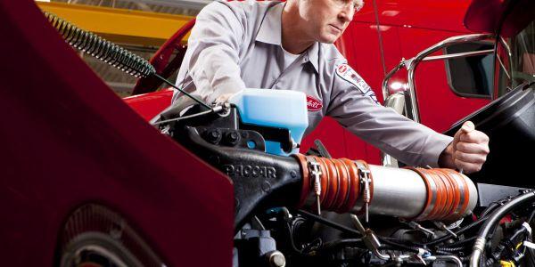 To attain Platinum Service Center status dealers must achieve high utilization of PACCAR...