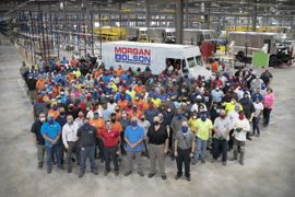 Morgan Olson's New Step Van Plant Now Operational