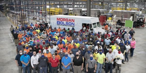 Morgan Olson is ahead of its goal of employing 703 new team members at the Ringgold, Va., plant...