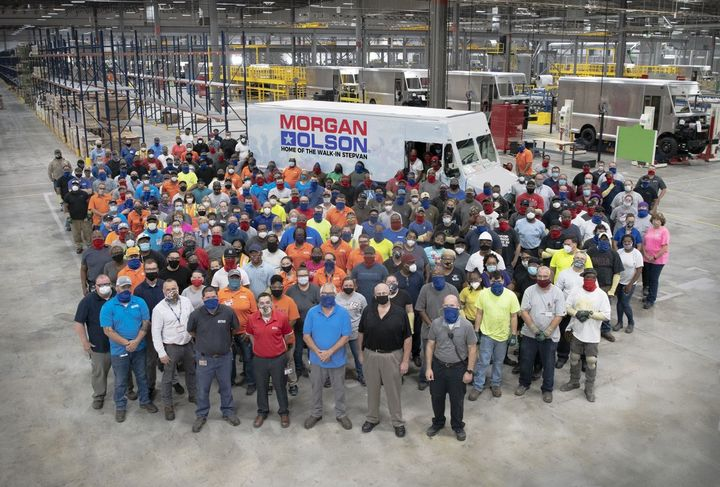Morgan Olson is ahead of its goal of employing 703 new team members at the Ringgold, Va., plant by the end of 2021, currently employing over 300 new team members. - Photo: Morgan Olson
