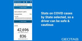 Geotab Updates Drive App with COVID Guardian Add-In