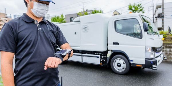 Operators walking alongside the vehicle can control the eCanter SensorCollect remotely, through...