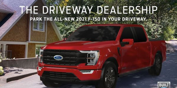 Now you can place the all-new F-150 in a driveway, workplace, backyard or wherever they happen...