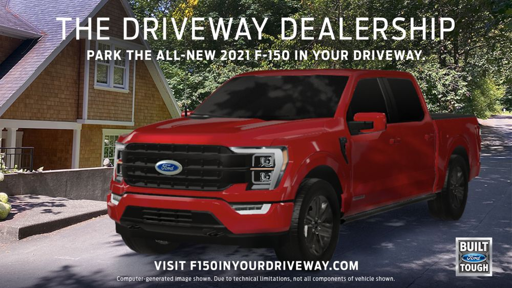 Ford Creates Driveaway Dealership for F-150