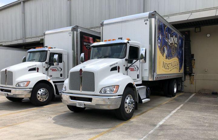 Eagle Rock utilizes mostly Kenworth T270 and T370 medium duty trucks purchased through MHC Kenworth - Atlanta. - Photo: Kenworth