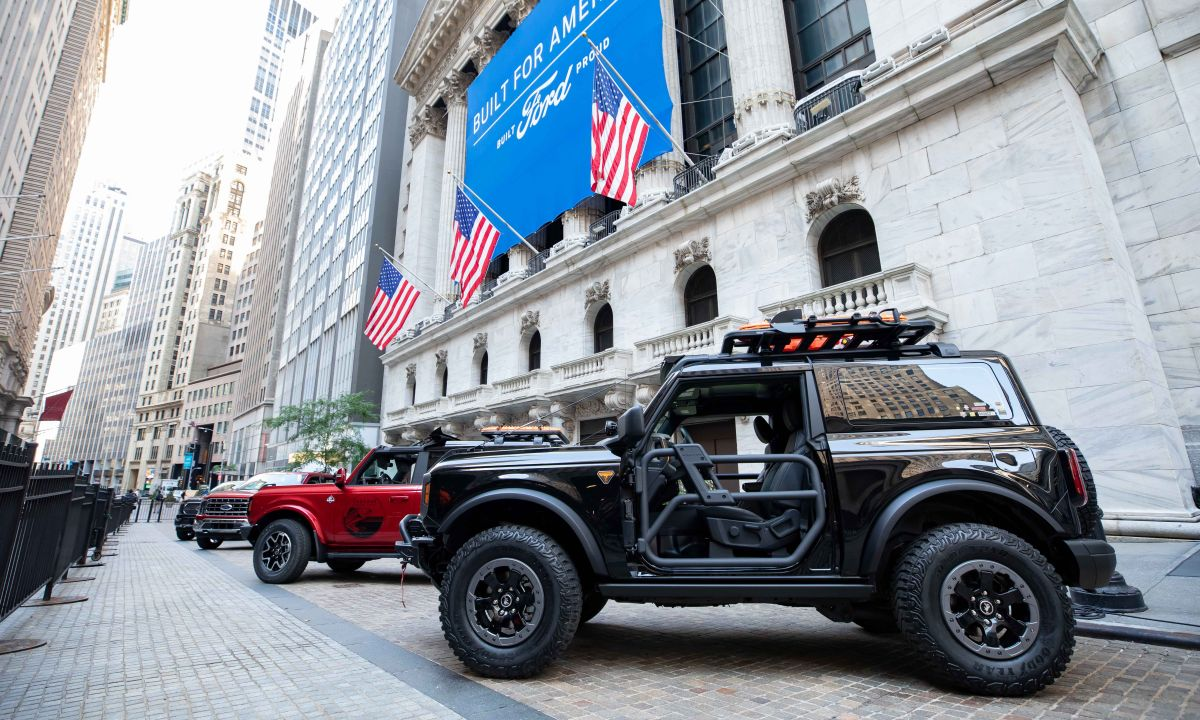 Ford's All-New F-150 and Bronco Make Debut at Stock Exchange
