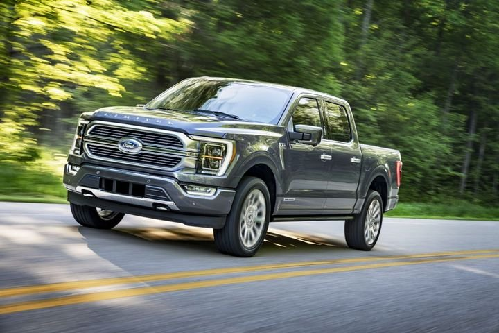 Ford revealed the redesigned F-150 in late June. - Photo: Ford