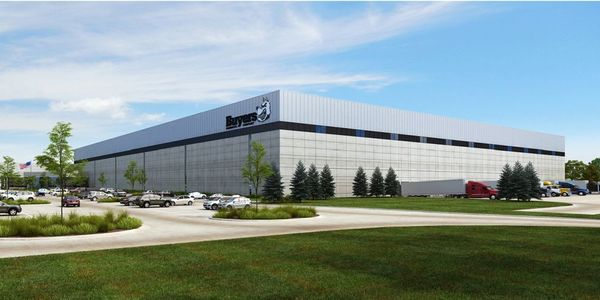 Here is a rendering of what the expanded warehouse will look like.
