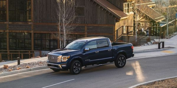 The 2021 Nissan Titan is equipped with a standard 5.6L Endurance V-8 with best-in-class 400...