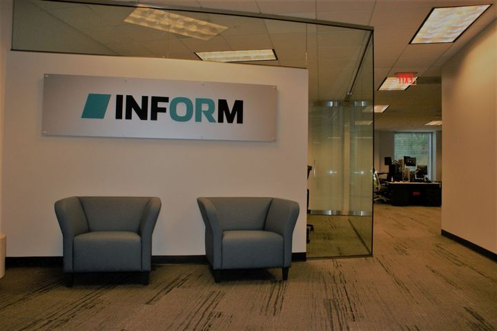 INFORM's new offices are strategically situated in Atlanta's Central Perimeter area where other leading brands like Mercedes, VMWare, Cox Enterprises and State Farm are based. - Photo: INFORM