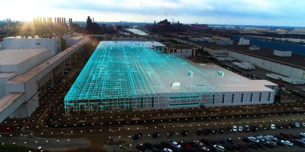 Ford's $700 million investment in the historic Rouge Complex includes a new high-tech...