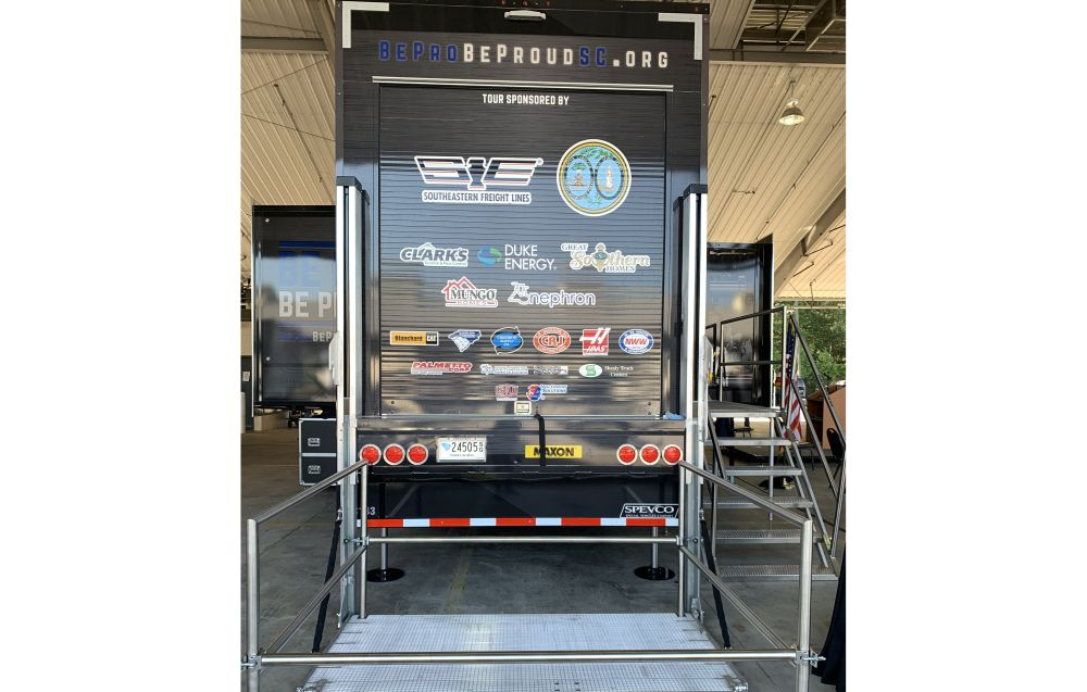 Maxon Lift Donates DMD Railift Liftgate for Mobile Workshop