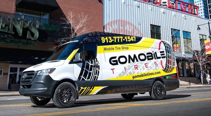 GoMobile Tire is expanding its mobile tire service operations with 50 new vans. - Photo: GoMobile Tire
