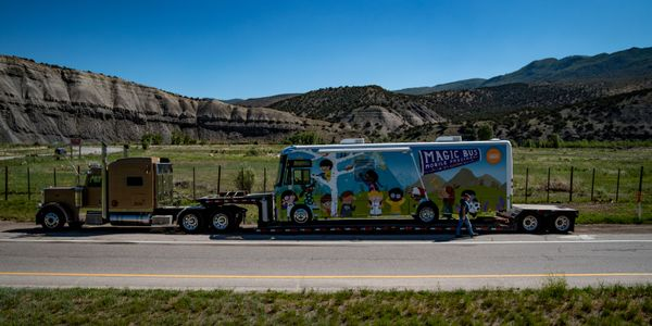 The Vail Valley Foundation's Magic Bus is based on Winnebago Industries' standard J33SE...