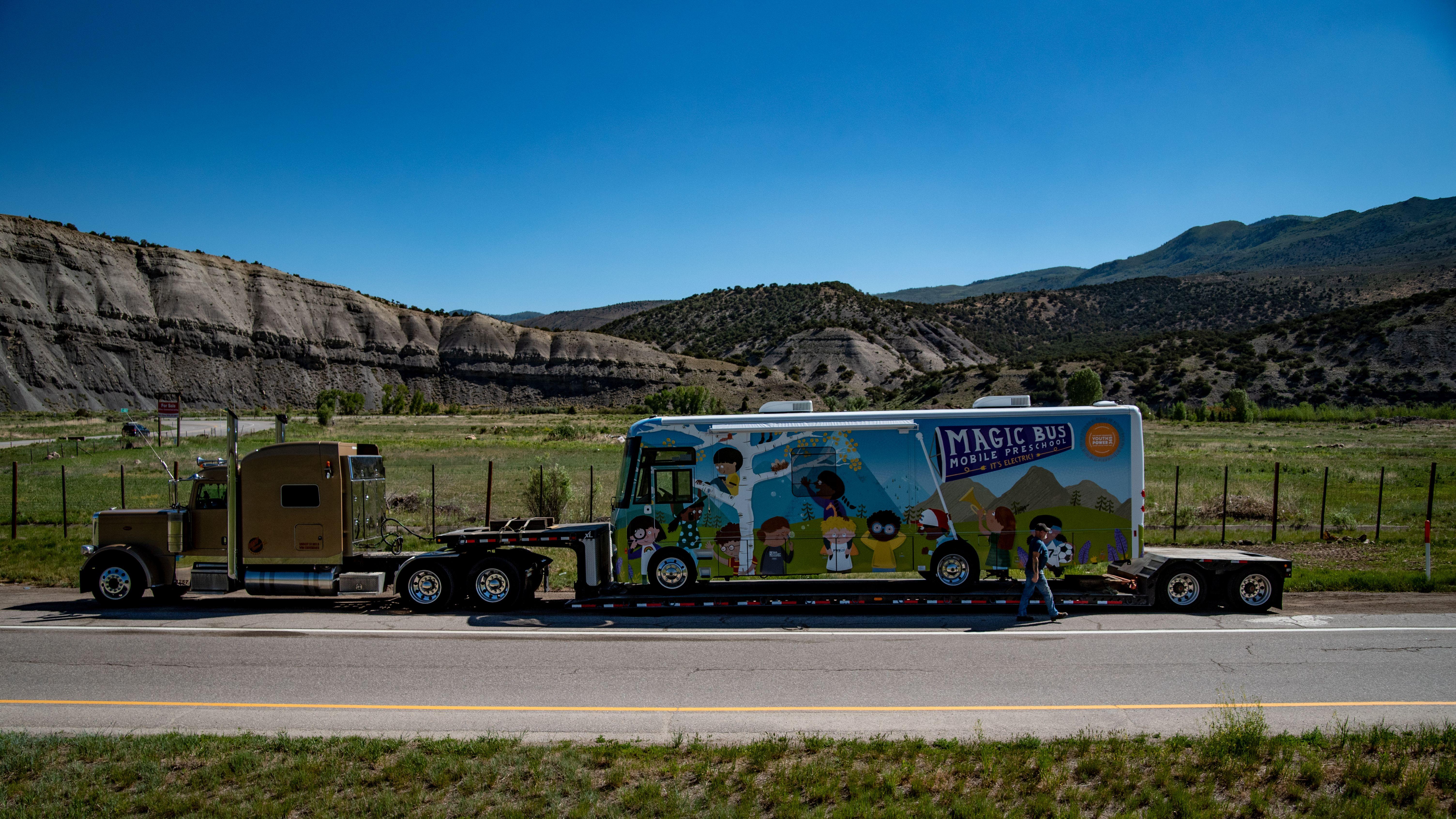 All-Electric Mobile Preschool Hits the Road in Colorado